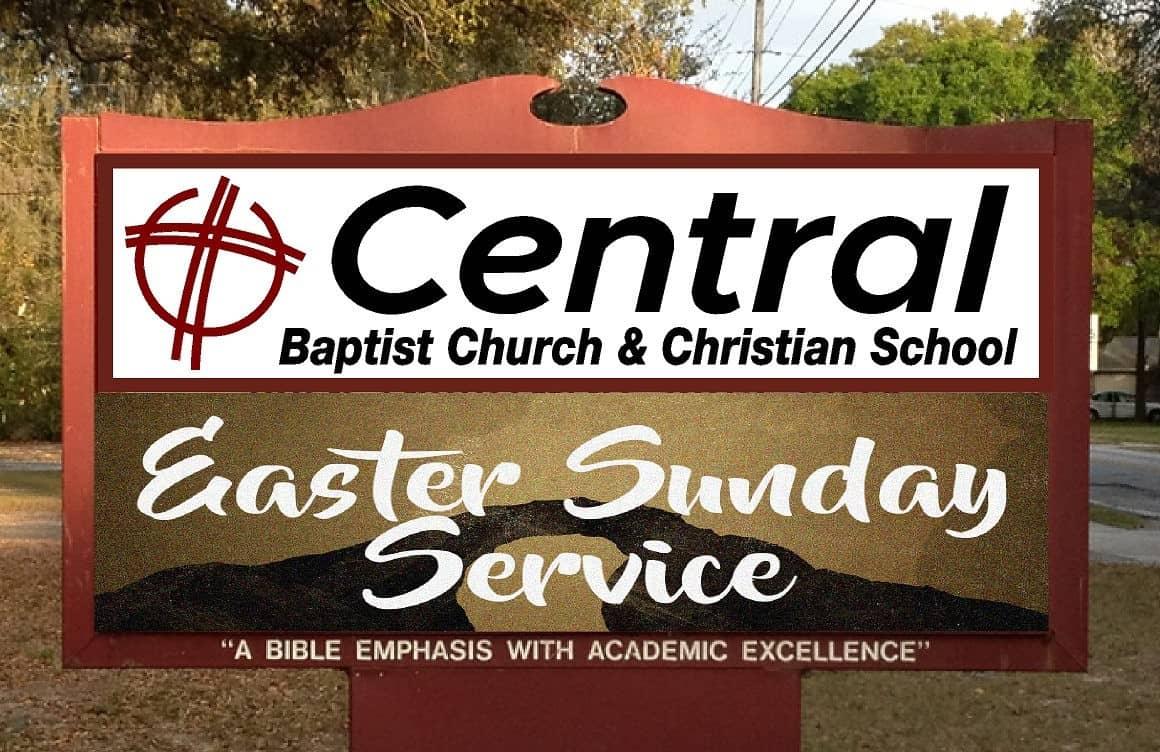 Central Baptist Sign cropped