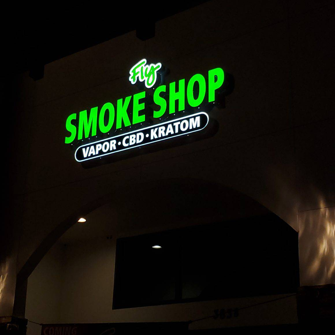 Fly Smoke shop - Channel Letters Riverview